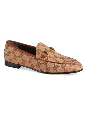Gucci new jordaan logo loafers