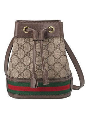 Gucci ophida mini bucket bag