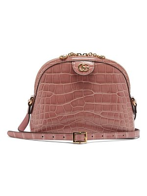 Gucci ophidia crocodile cross body bag
