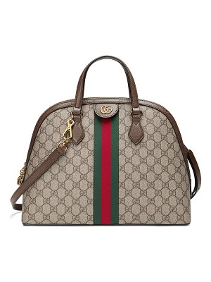 Gucci Ophidia Medium Web GG Supreme Top-Handle Bag