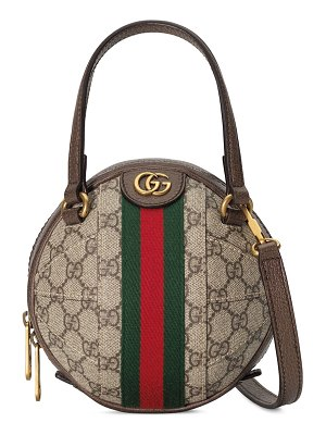 Gucci Ophidia Mini GG Sphere Top-Handle Bowler Bag