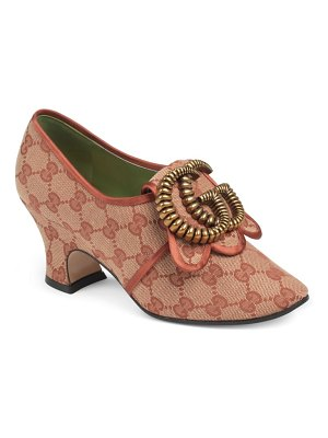 Gucci ortensia double g hardware pump