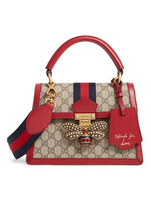Gucci queen margaret gg top handle satchel