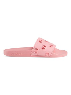 Gucci rubber pursuit g slides