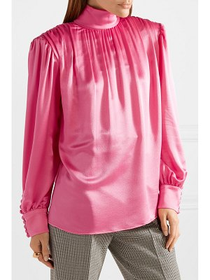Gucci silk-satin blouse