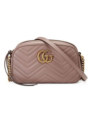 Gucci small gg marmont 2.0 matelasse leather camera bag