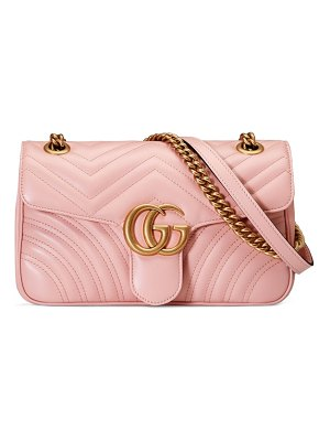 Gucci small gg marmont 2.0 matelasse leather shoulder bag