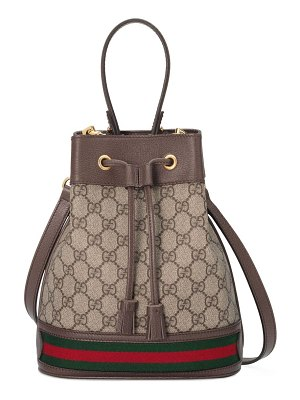 Gucci small ophida bucket bag