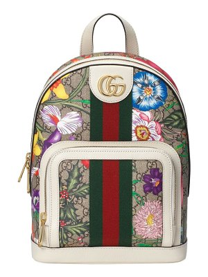 Gucci ophidia gg flora small backpack
