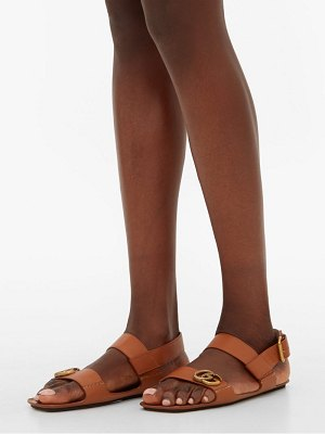 Gucci sonique gg leather sandals