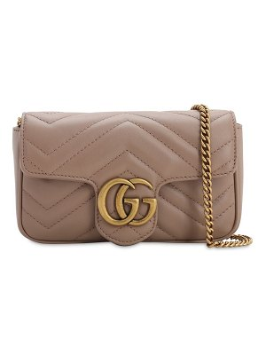 Gucci Super mini gg marmont leather bag
