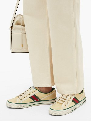 Gucci tennis 1977 canvas trainers