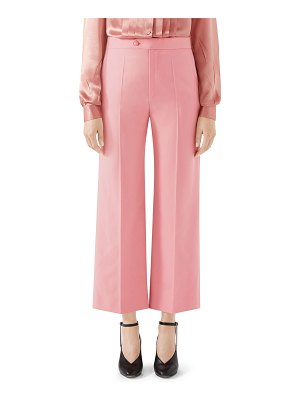 Gucci wool crop pants