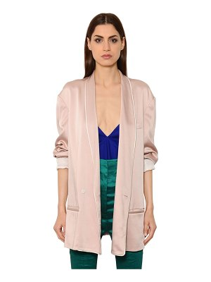 Haider Ackermann Oversized satin jacket