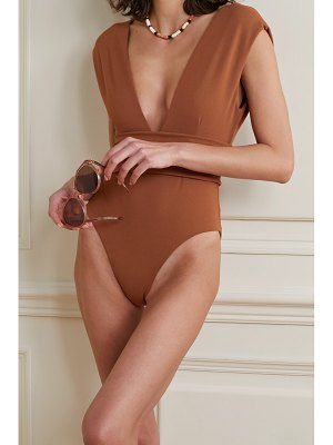 Haight isabel stretch-crepe swimsuit