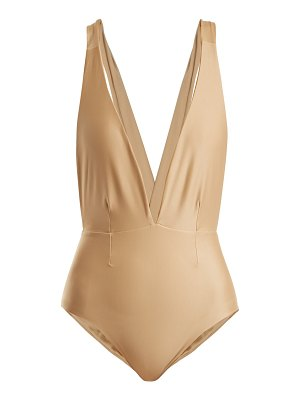 Haight Marina Deep V Neck Swimsuit