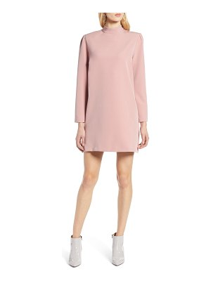 Halogen halogen bow back ponte shift dress