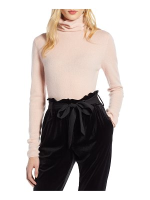 Halogen halogen funnel neck cashmere sweater