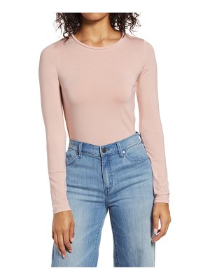 Halogen halogen long sleeve modal blend tee