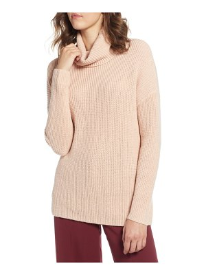 Halogen halogen oversized turtleneck tunic sweater