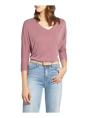 Halogen halogen relaxed v-neck top