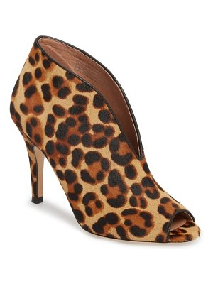 Halogen halogen rowen genuine calf hair pump
