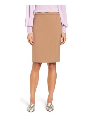 Halogen halogen seamed pencil skirt