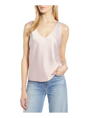 Halogen halogen sleeveless top