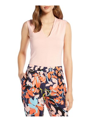 Halogen halogen v-neck sleeveless top
