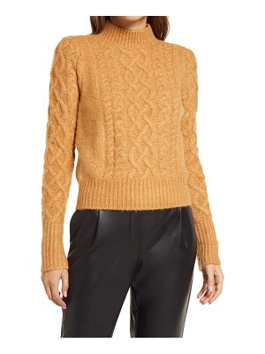 Halogen halogen x atlantic-pacific cable knit sweater