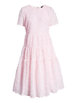 Halogen halogen x atlantic-pacific floret tiered a-line dress