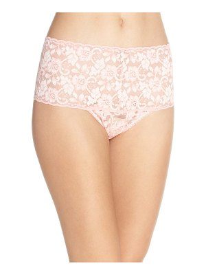 Hanky Panky cross dye lace retro thong