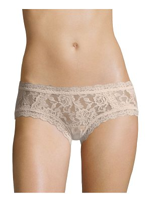 Hanky Panky floral lace hipster