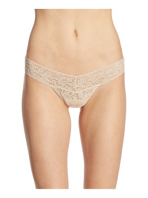 Hanky Panky signature low-rise lace thong