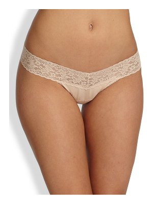 Hanky Panky low-rise cotton thong