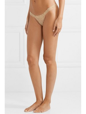 Hanky Panky set of three stretch-lace thongs