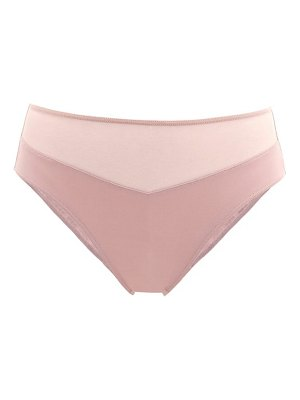 Hanro gemma high-cut mesh-panel stretch-jersey briefs