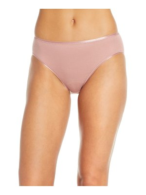 Hanro seamless cotton high cut briefs
