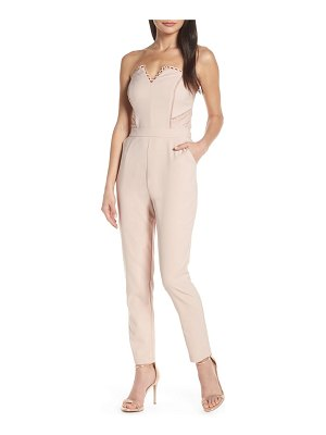 Harlyn strapless jumpsuit