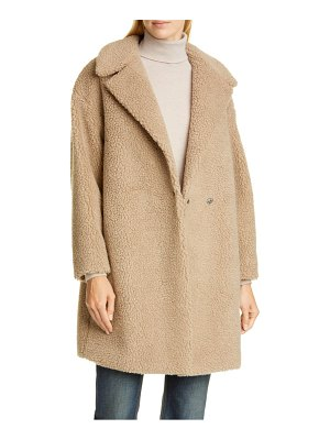 Harris Wharf London faux shearling coat
