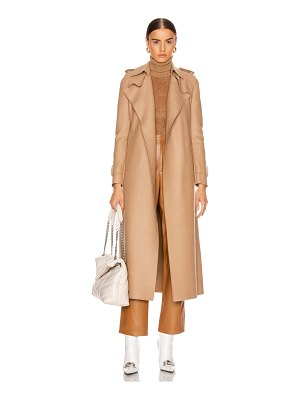 Harris Wharf London long trench coat