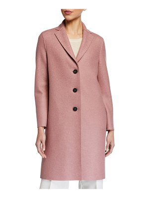 Harris Wharf London Pressed Wool Overcoat