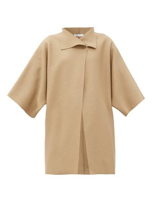 Harris Wharf London pressed-wool wrap coat