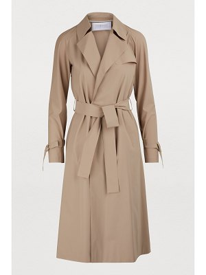 Harris Wharf London Raglan-sleeved trench coat