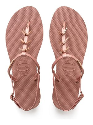 Havaianas you riviera embellished sandal