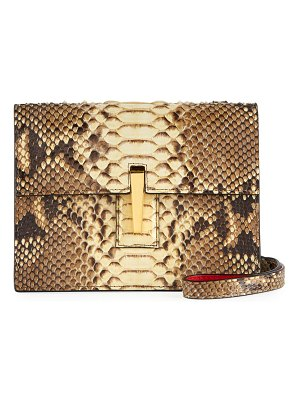 Hayward Python Mini Soft Shoulder Bag