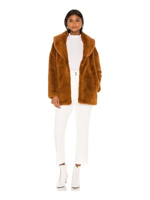 Heartloom ava faux fur coat