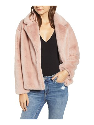Heartloom luna faux fur jacket