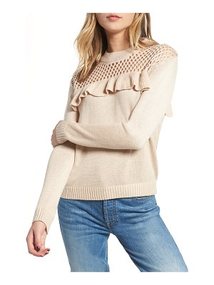 Heartloom mae ruffle sweater