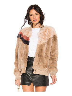 Heartloom Meg Rabbit Fur Jacket